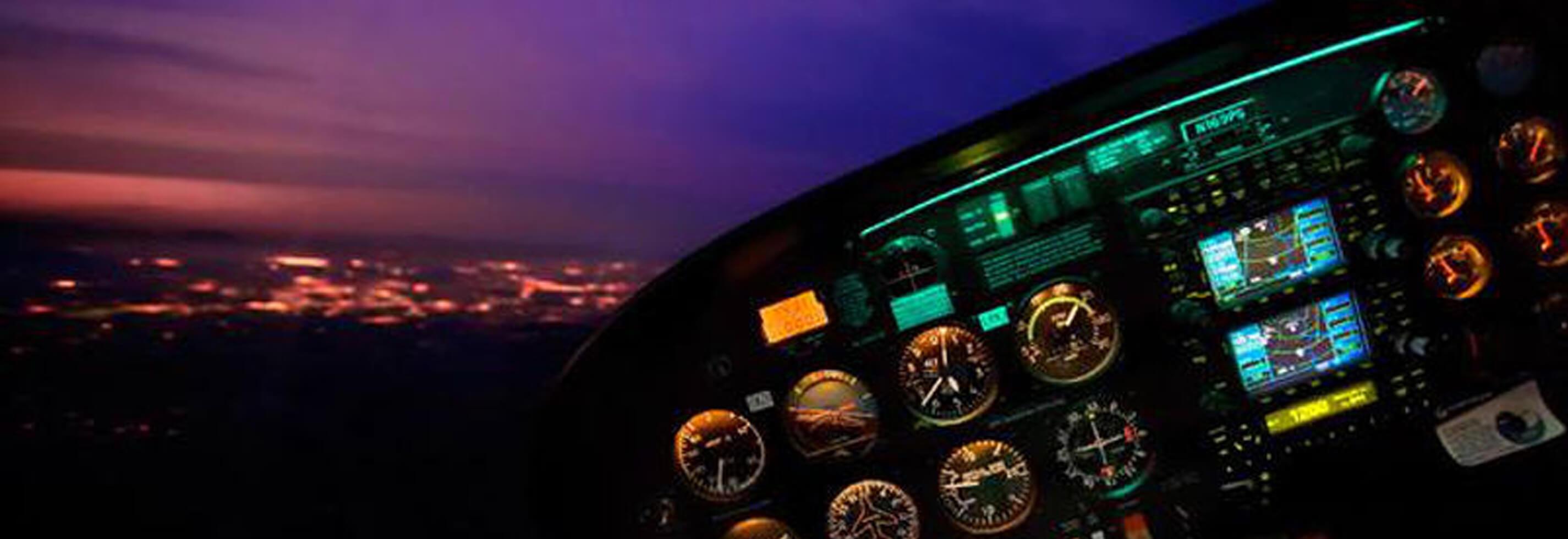 Nattutsjekk Sandefjord Flyklubb