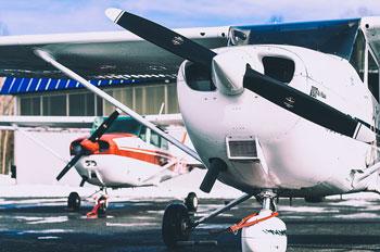 Flyskole ved Torp Lufthavn